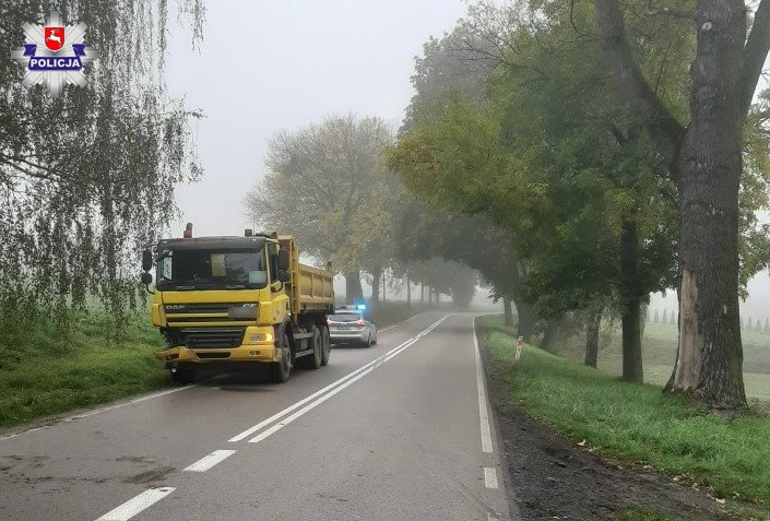 68 176169 Zderzenie dwóch ciężarówek