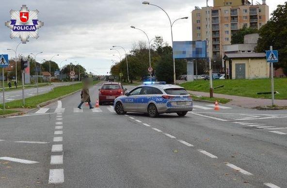 68 176240 ZAMOŚĆ: Kobieta potrącona na przejściu dla pieszych