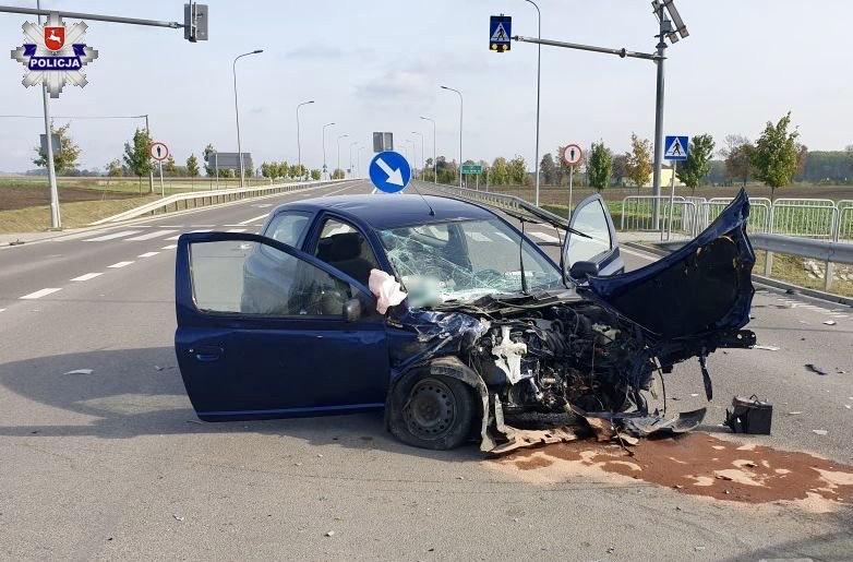 68 176470 Groźny wypadek z udziałem 86-latka