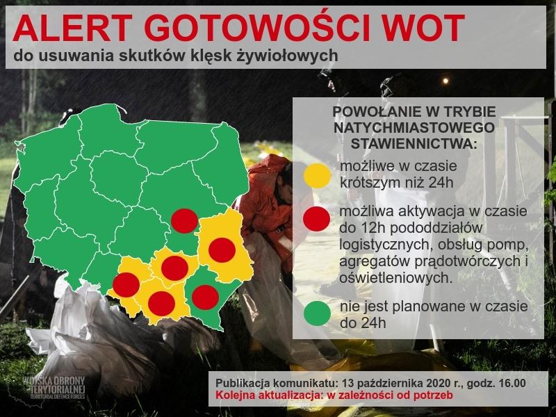 alert Pracowity czas dla lubelskich Terytorialsów