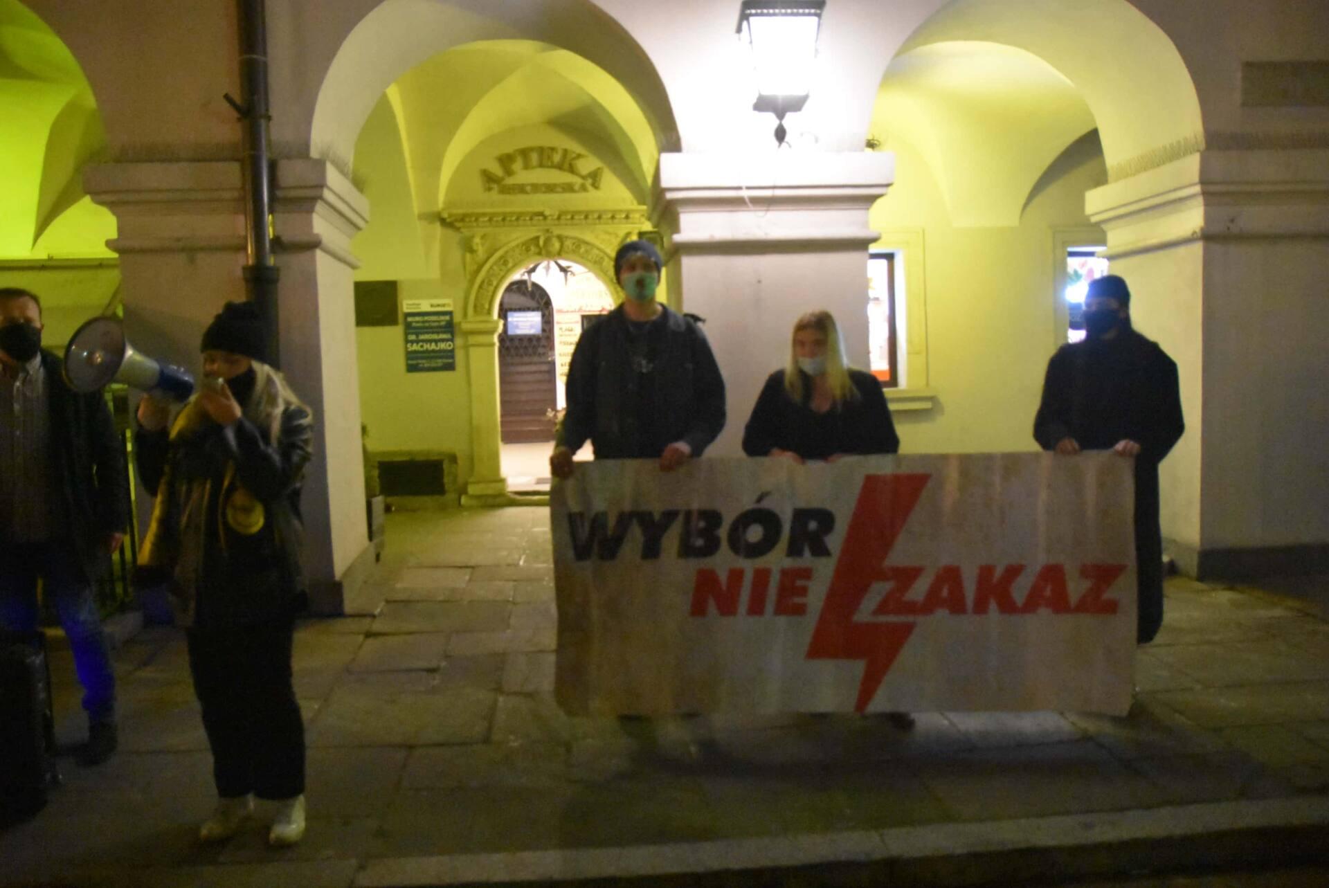 dsc 3086 Strajk Kobiet w Zamościu (zdjęcia)