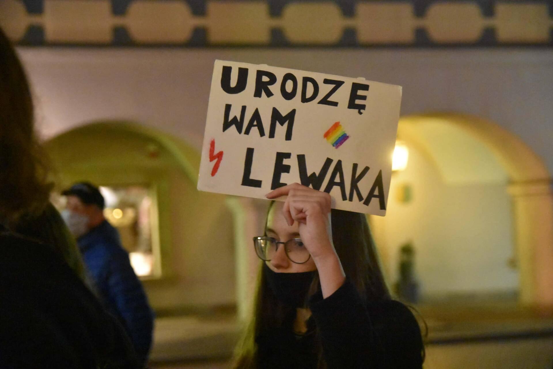 dsc 3094 Strajk Kobiet w Zamościu (zdjęcia)
