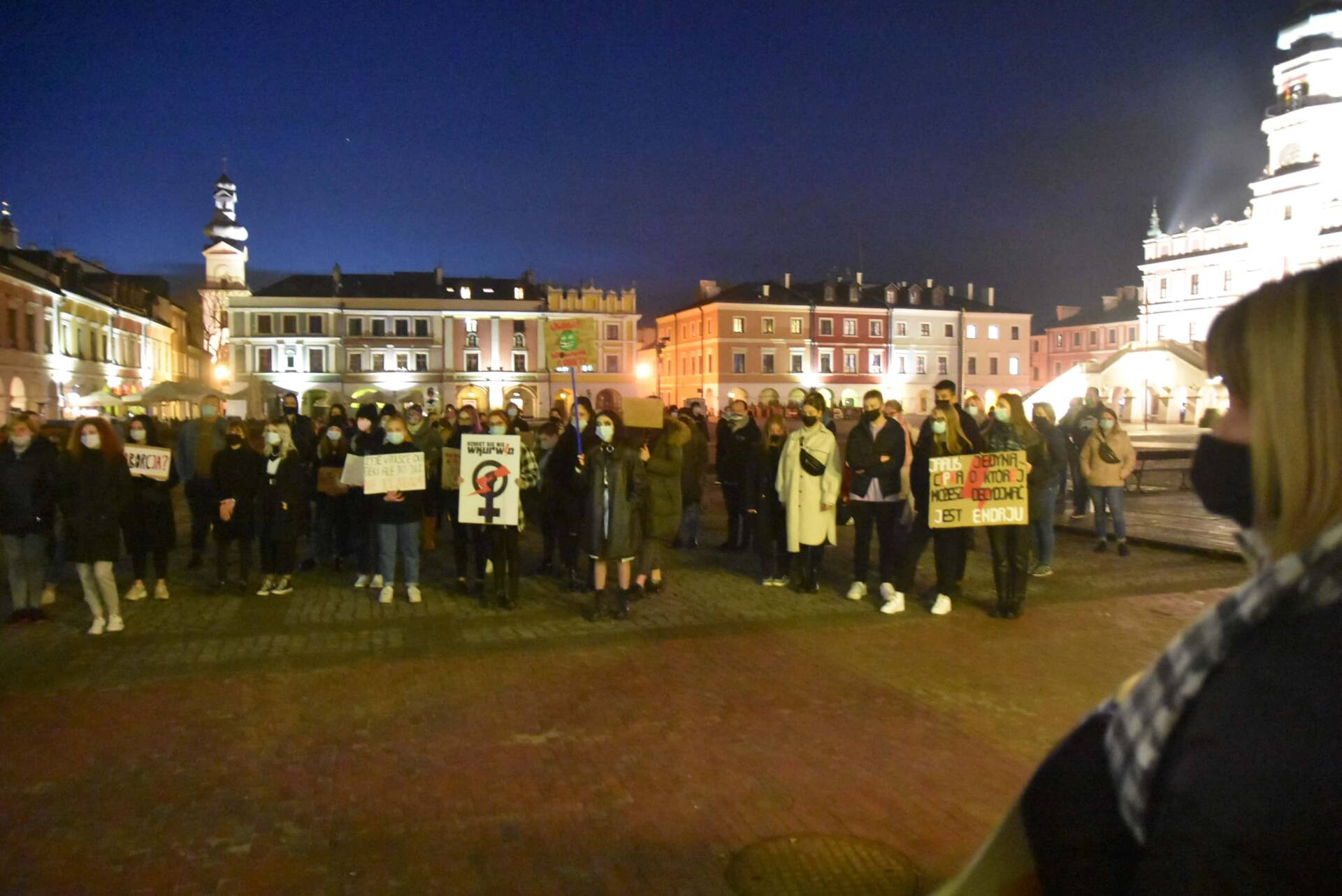 dsc 3108 Strajk Kobiet w Zamościu (zdjęcia)