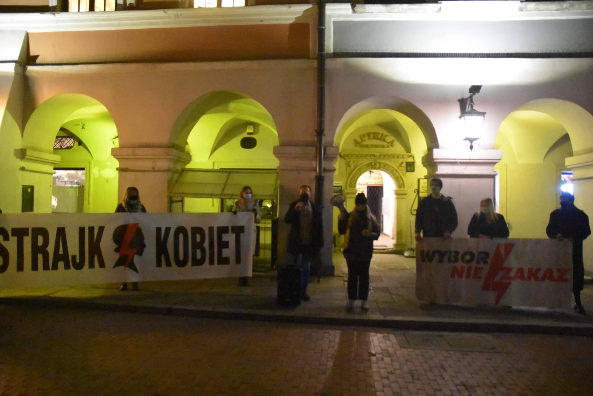 dsc 3116 Strajk Kobiet w Zamościu (zdjęcia)