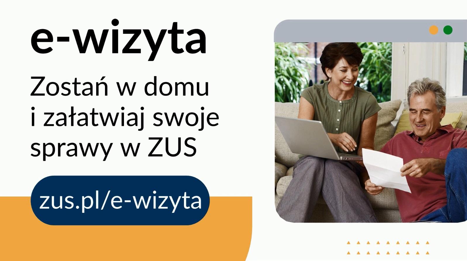e wizyta ZUS uruchamia e-wizyty