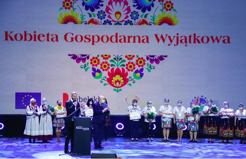 gala1 Gmina Stary Zamość nagrodzona podczas gali konkursowej