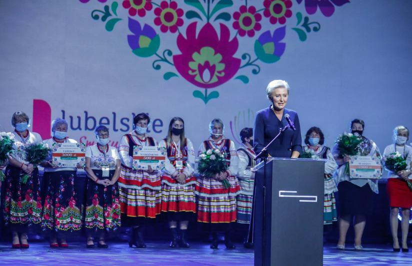 gala3 Gmina Stary Zamość nagrodzona podczas gali konkursowej