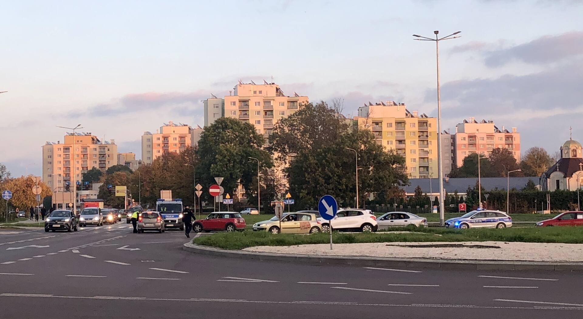 img 2781 Samochodowy protest kobiet w Zamościu (FILM, ZDJĘCIA)