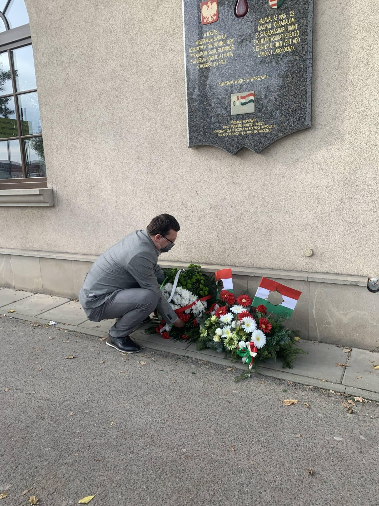 img 3155 Zamość: Upamiętniono Narodowe Święto Węgier [FOTORELACJA + PREZENT dla czytelników]