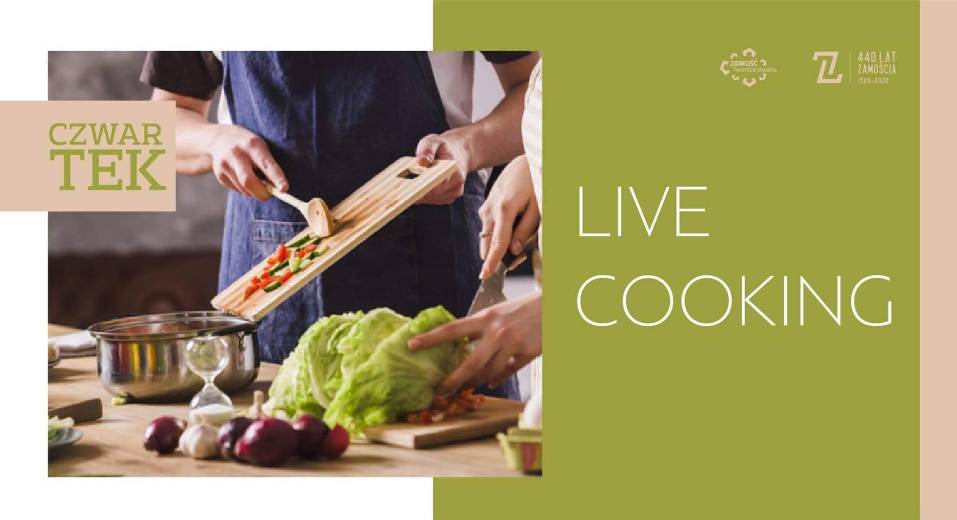 live cooking ZAMOŚĆ: Gotowanie na żywo, treningi, koncerty, porady lekarskie, zajęcia dla dzieci. Miasto Zamość przygotowało cykl wydarzeń on-line.