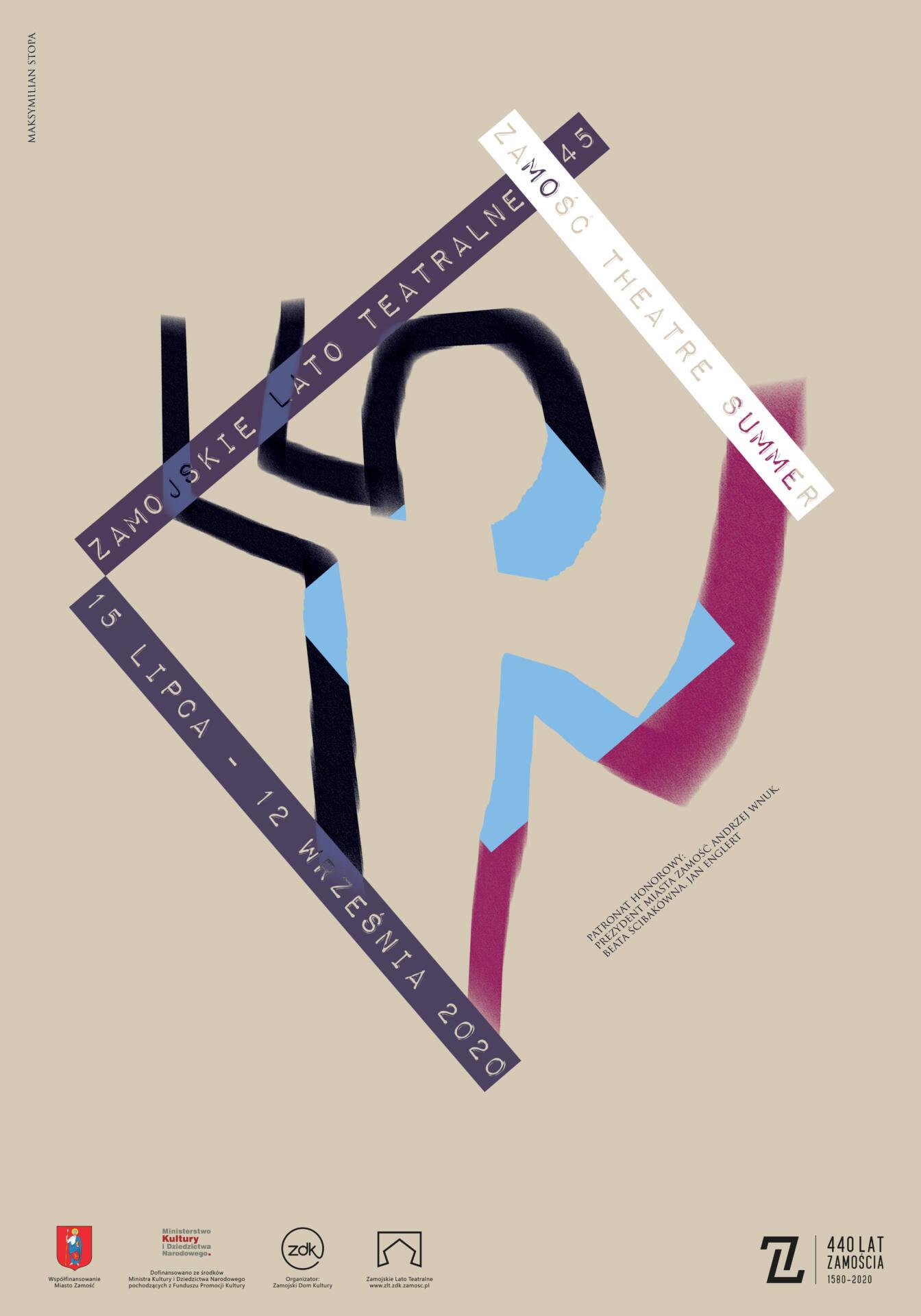 maksymilian stopa plakat internet Odsłonięcie rzeźby, monodram, koncert. ZDK zaprasza na podsumowanie Lata Teatralnego.