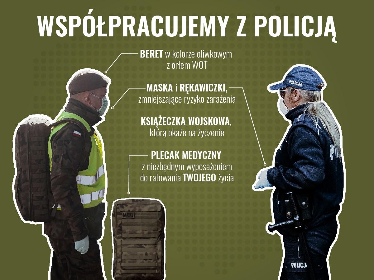 wspolpraca z policja Pracowity czas dla lubelskich Terytorialsów