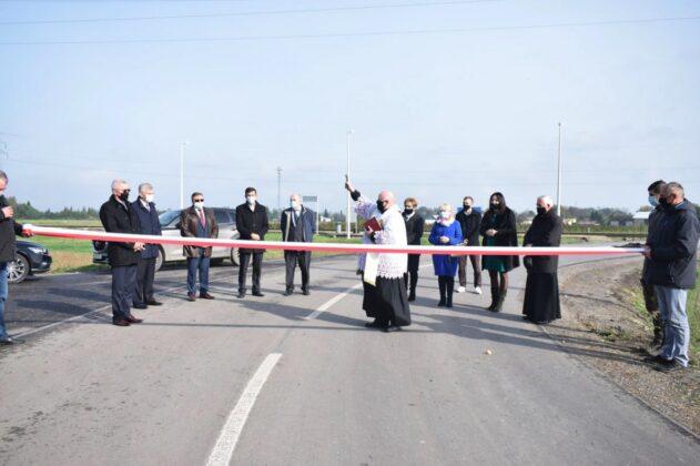 zrzut ekranu 2020 10 21 o 11 24 08 Powiat Zamojski. Przybyły kolejne kilometry zmodernizowanych dróg.