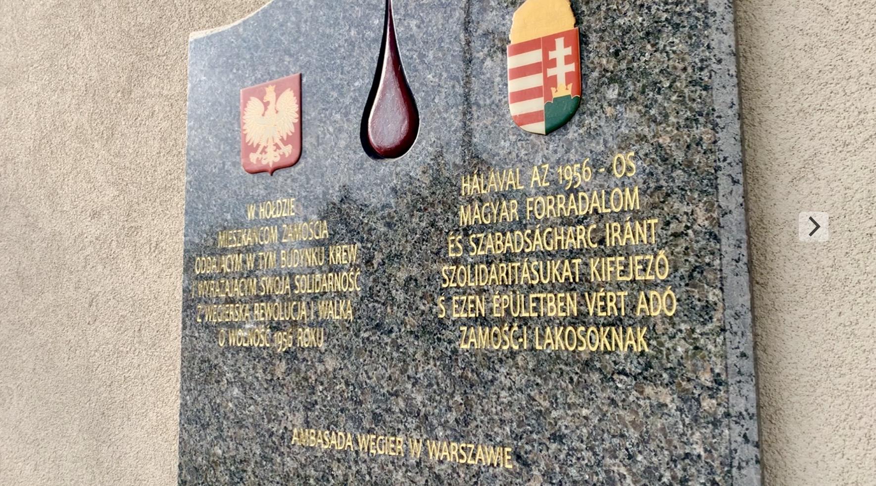 zrzut ekranu 2020 10 23 o 11 46 51 Zamość: Upamiętniono Narodowe Święto Węgier [FOTORELACJA + PREZENT dla czytelników]