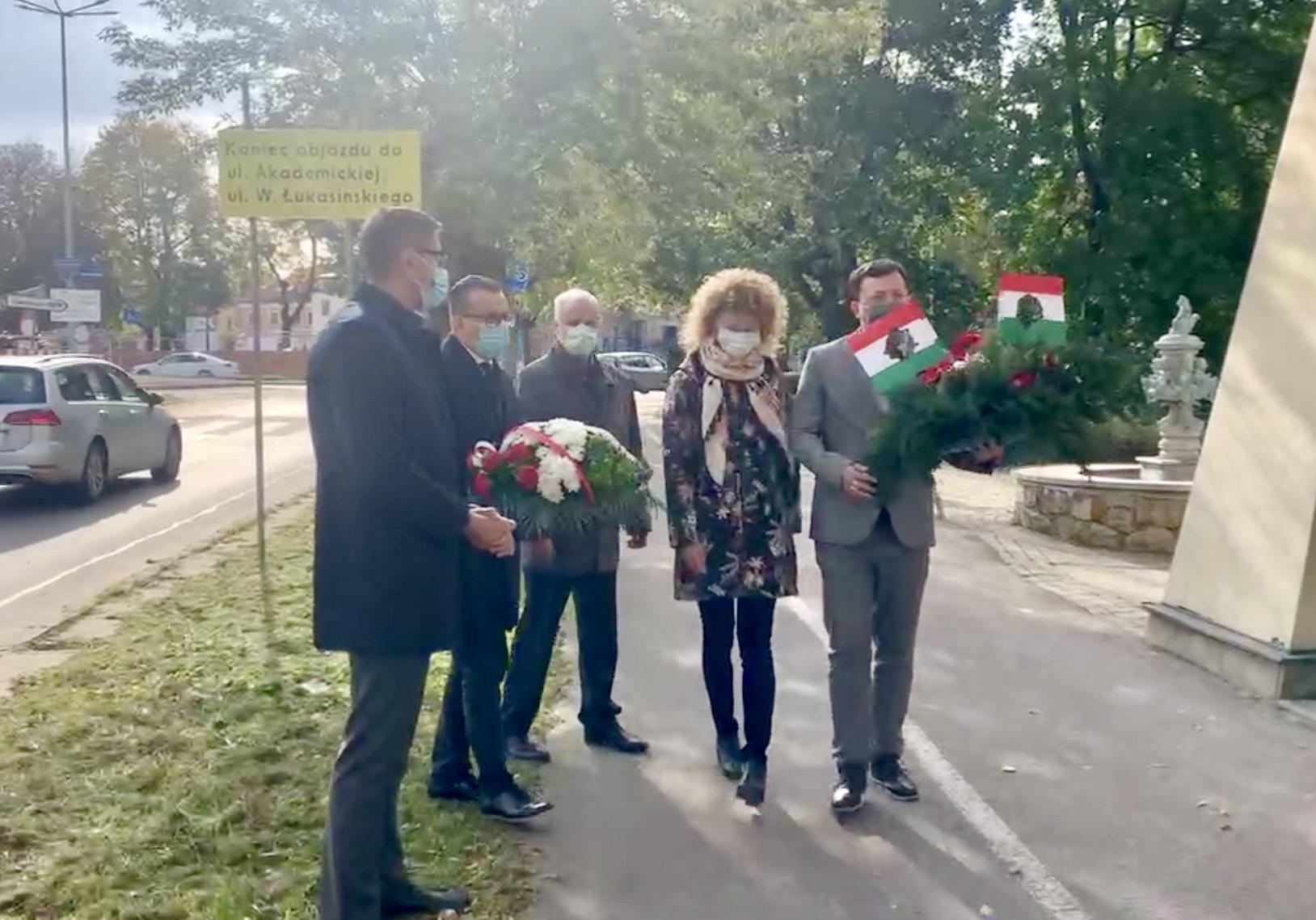 zrzut ekranu 2020 10 23 o 11 47 26 Zamość: Upamiętniono Narodowe Święto Węgier [FOTORELACJA + PREZENT dla czytelników]