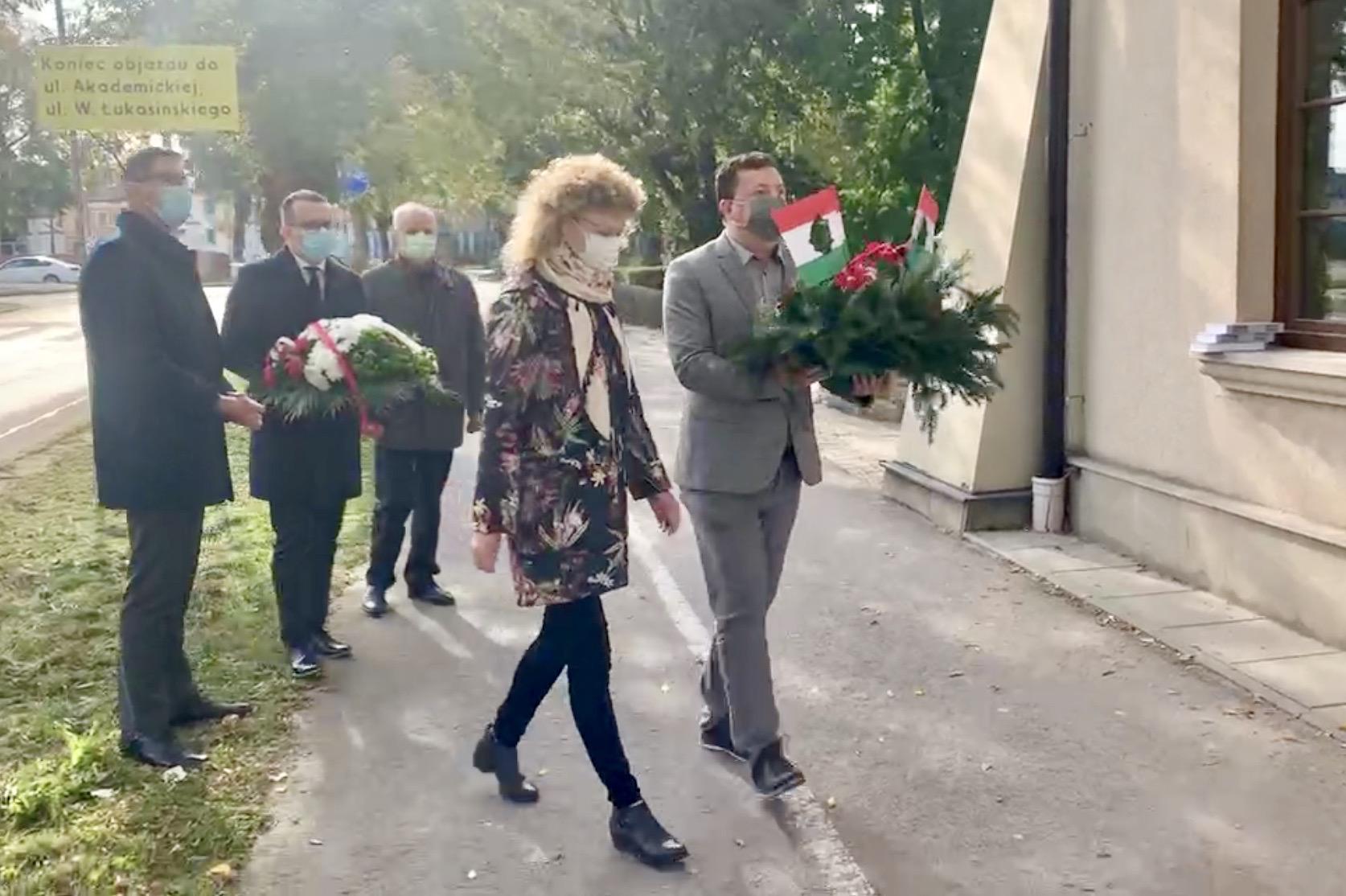 zrzut ekranu 2020 10 23 o 11 47 37 Zamość: Upamiętniono Narodowe Święto Węgier [FOTORELACJA + PREZENT dla czytelników]