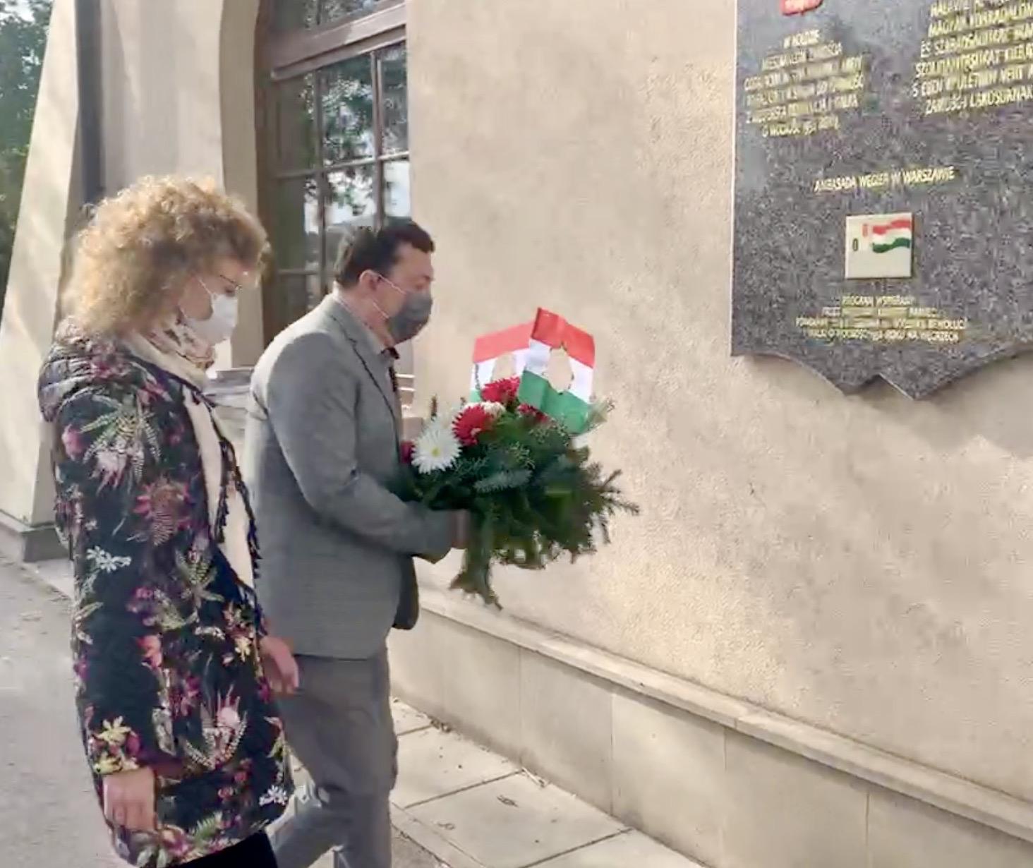 zrzut ekranu 2020 10 23 o 11 47 49 Zamość: Upamiętniono Narodowe Święto Węgier [FOTORELACJA + PREZENT dla czytelników]