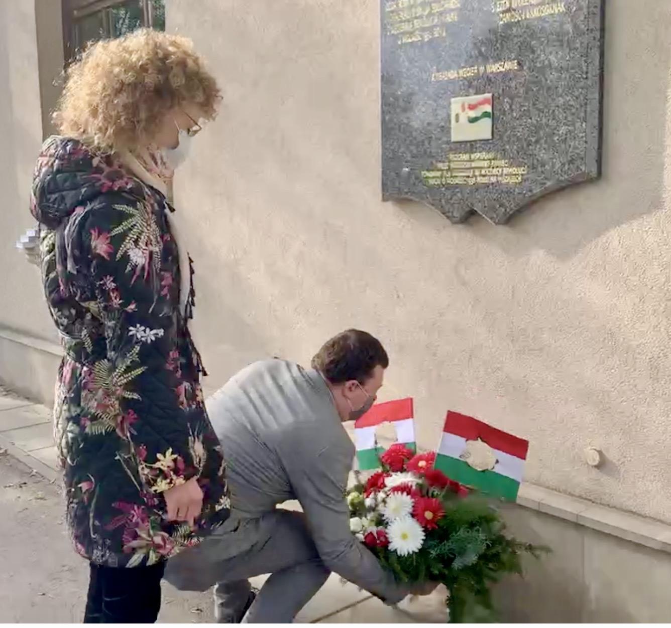 zrzut ekranu 2020 10 23 o 11 47 57 Zamość: Upamiętniono Narodowe Święto Węgier [FOTORELACJA + PREZENT dla czytelników]