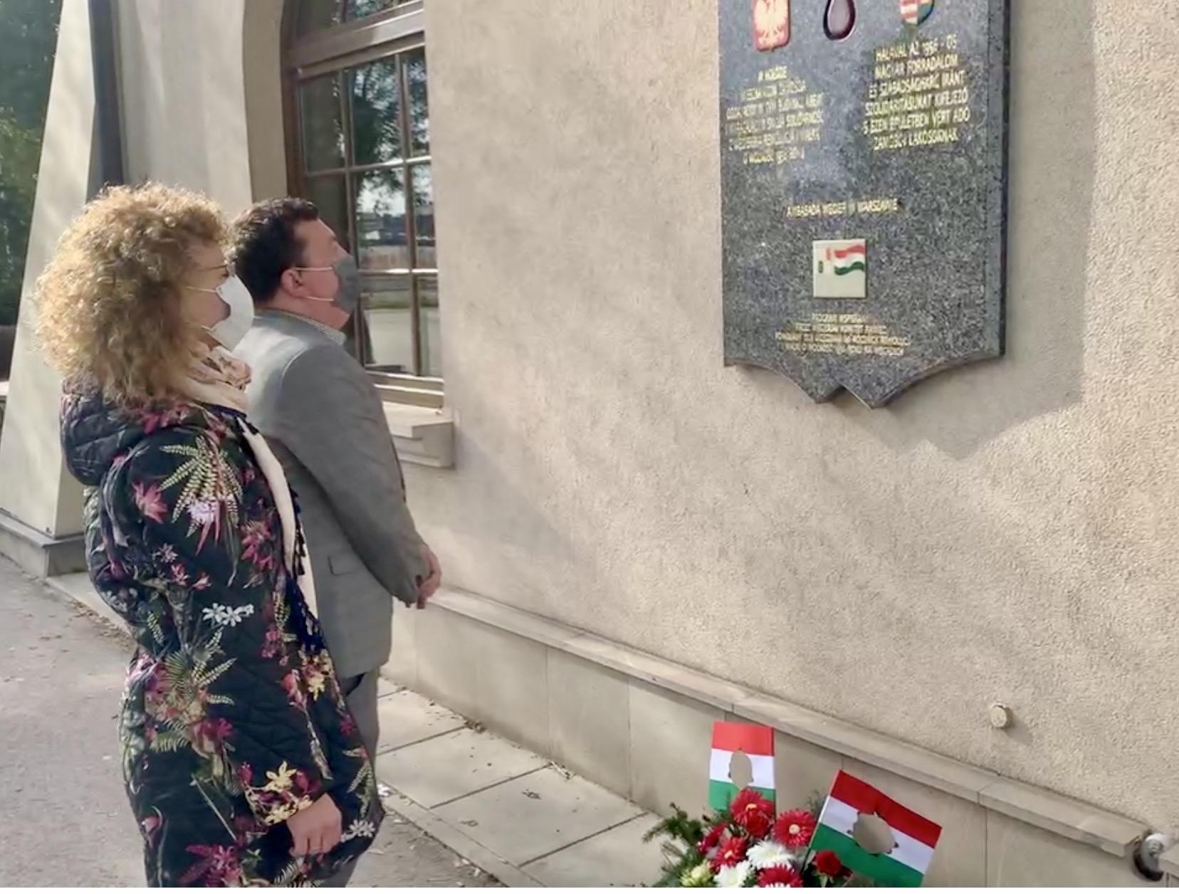 zrzut ekranu 2020 10 23 o 11 48 10 Zamość: Upamiętniono Narodowe Święto Węgier [FOTORELACJA + PREZENT dla czytelników]