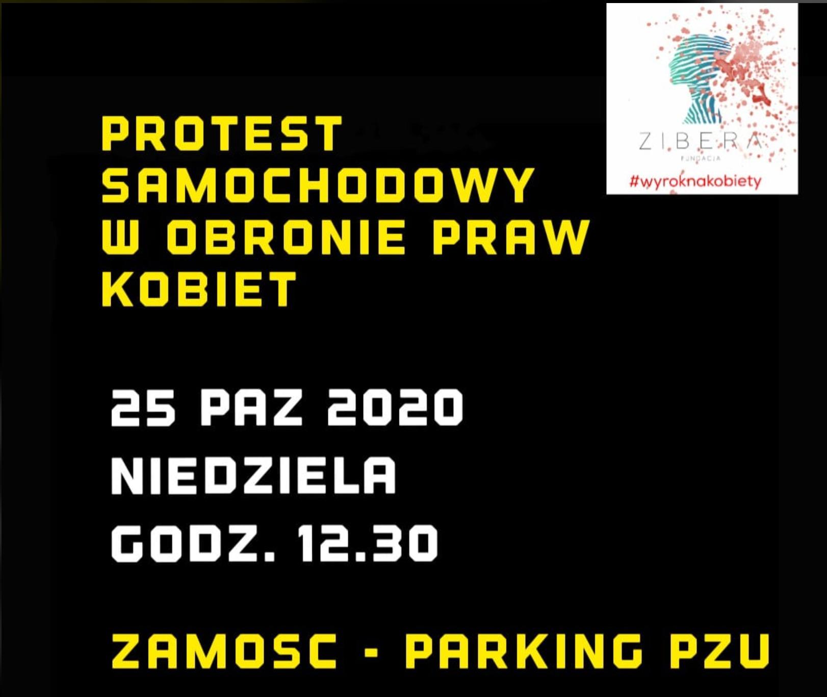 zrzut ekranu 2020 10 25 o 07 09 23 Niedziela. Kolejny protest kobiet w Zamościu!