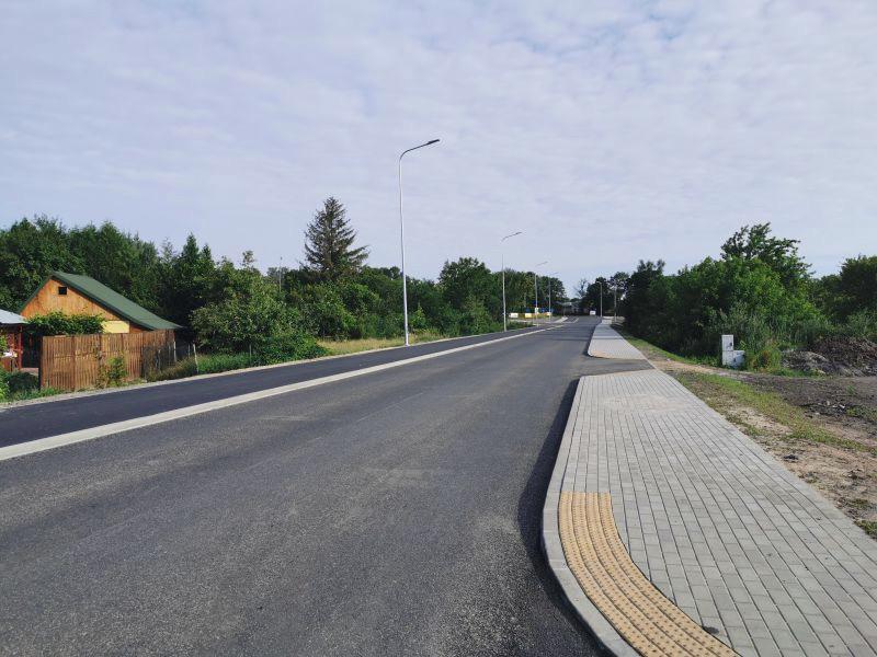 zrzut ekranu 2020 10 29 o 10 20 20 ZAMOŚĆ: Duża inwestycja drogowa zakończona [ZDJĘCIA]