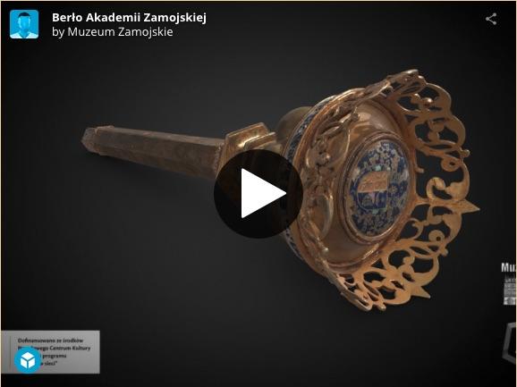 zrzut ekranu 2020 10 29 o 11 39 15 Zamość: Muzealne eksponaty w 3D