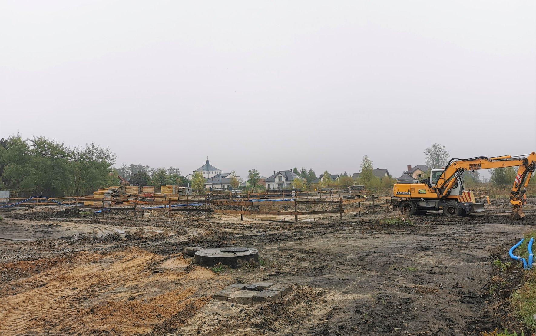 124153501 188945809478771 2512110994033316598 o Zamość: Trwa budowa nowego osiedla mieszkaniowego