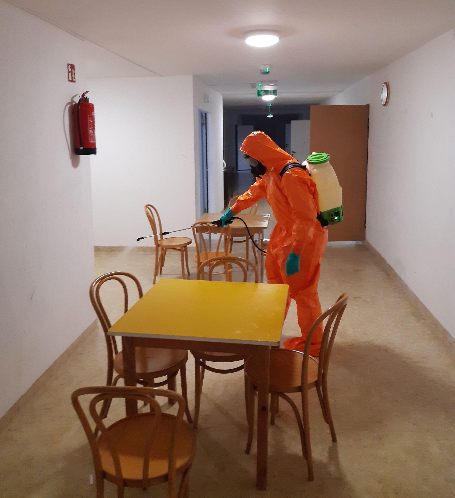 25blp dps teodorowka 1 Zamojscy Terytorialsi w walce z pandemią. Wspierają m.in. personel szpitala