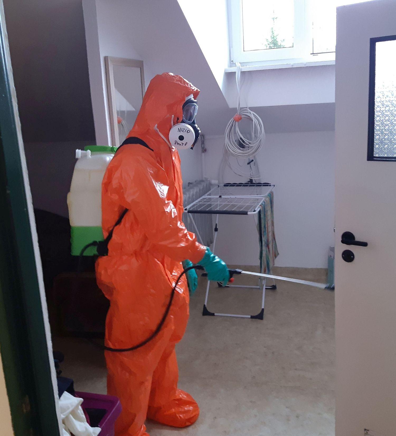 25blp dps teodorowka 2 1 Zamojscy Terytorialsi w walce z pandemią. Wspierają m.in. personel szpitala