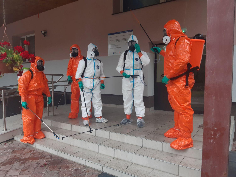 25blp dps teodorowka 3 Zamojscy Terytorialsi w walce z pandemią. Wspierają m.in. personel szpitala