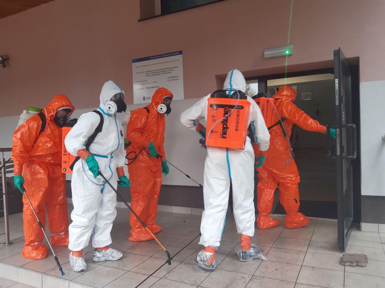 25blp dps teodorowka 4 Zamojscy Terytorialsi w walce z pandemią. Wspierają m.in. personel szpitala