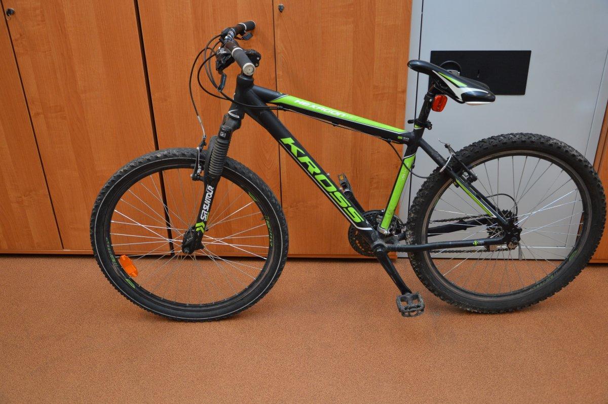 359 177530 Kto zgubił rower? Jest do odebrania na komisariacie