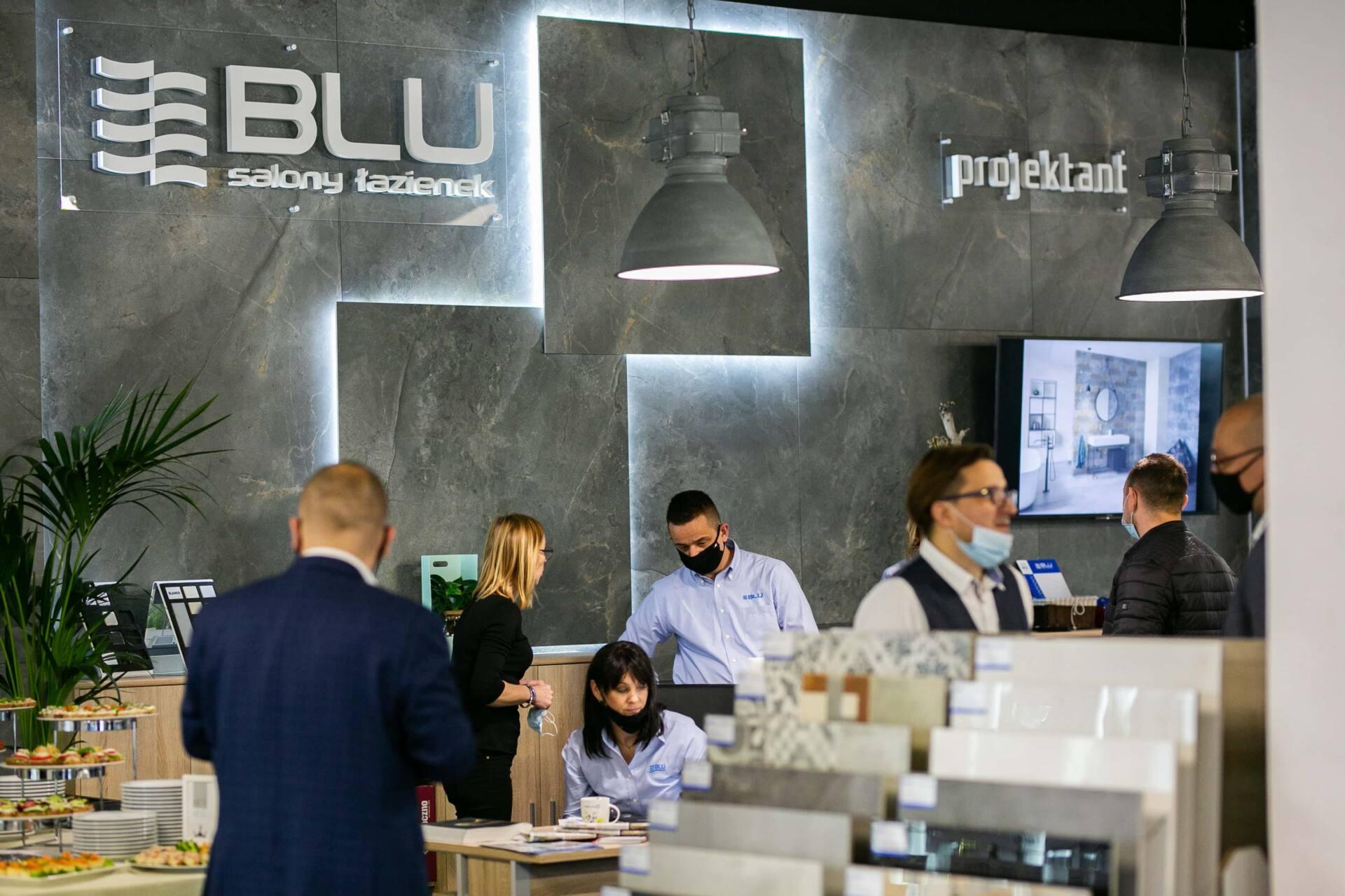 5db 5545 Salon BLU: na ponad 500 m2., 36 łazienkowych aranżacji i bogata ekspozycja wyposażenia (zdjęcia)