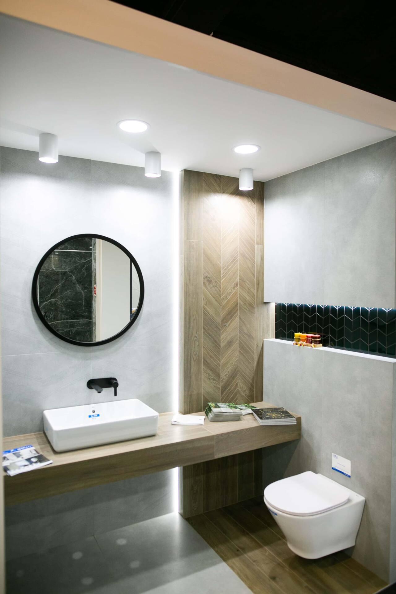5db 5585 Salon BLU: na ponad 500 m2., 36 łazienkowych aranżacji i bogata ekspozycja wyposażenia (zdjęcia)