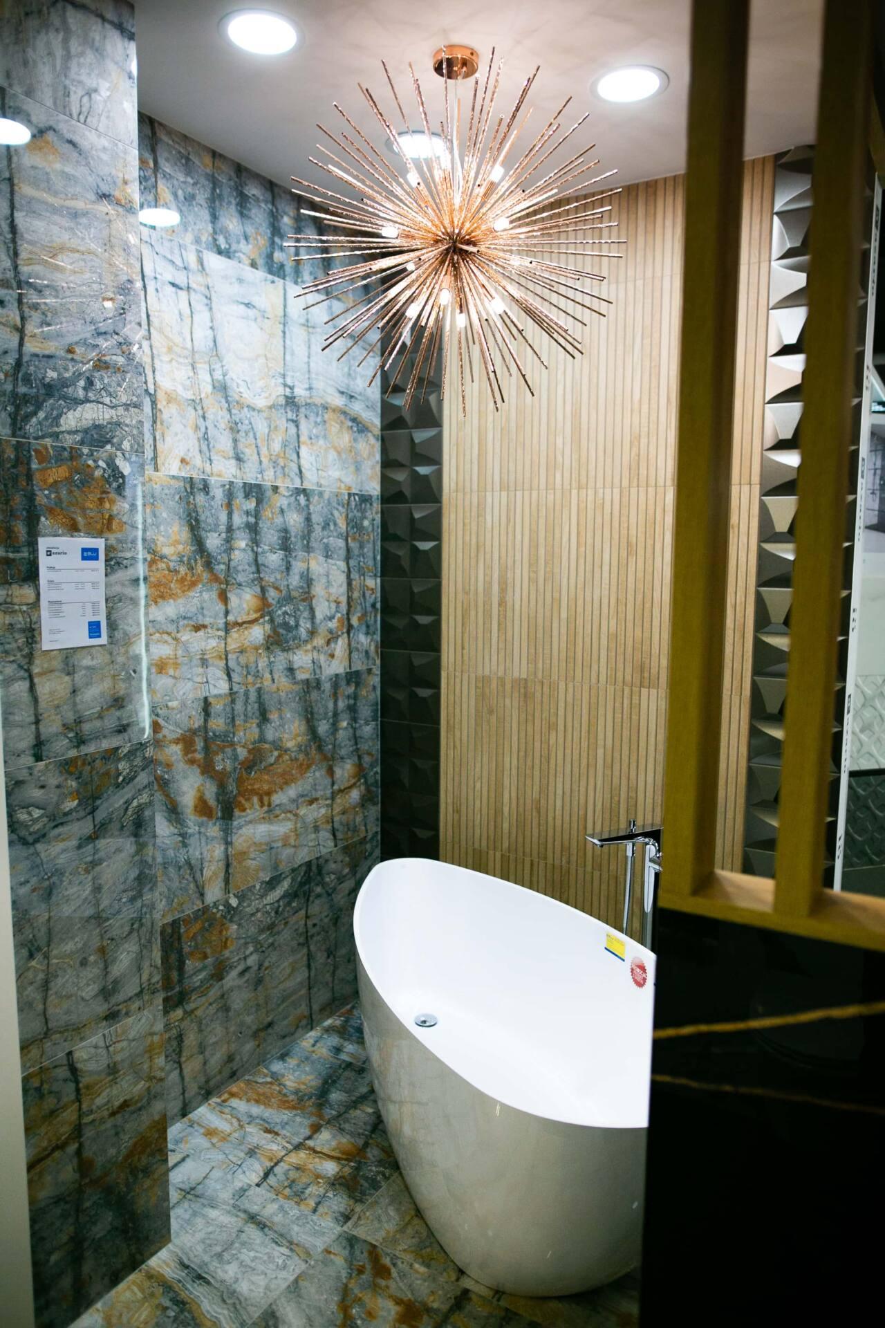 5db 5613 Salon BLU: na ponad 500 m2., 36 łazienkowych aranżacji i bogata ekspozycja wyposażenia (zdjęcia)