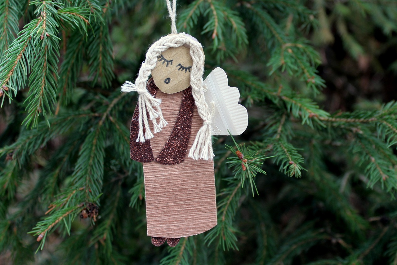 angel 3868686 1280 Przystrój choinkę dla św. Jana Pawła II