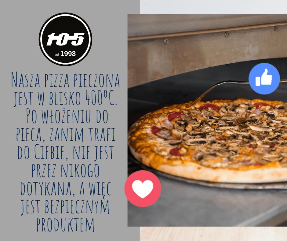 bezpieczna pizza 02 Pizzeria Stopiątka otworzyła swój pierwszy lokal w Zamościu.
