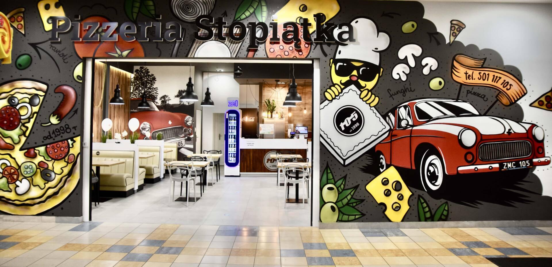 dsc 3284 Pizzeria Stopiątka otworzyła swój pierwszy lokal w Zamościu.