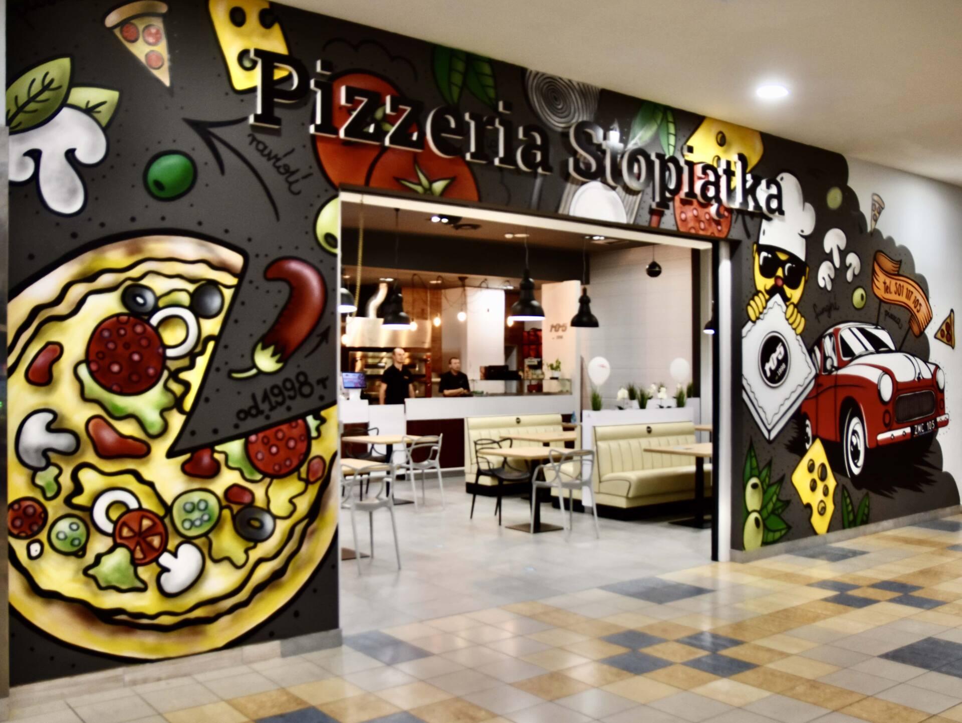 dsc 3286 Pizzeria Stopiątka otworzyła swój pierwszy lokal w Zamościu.
