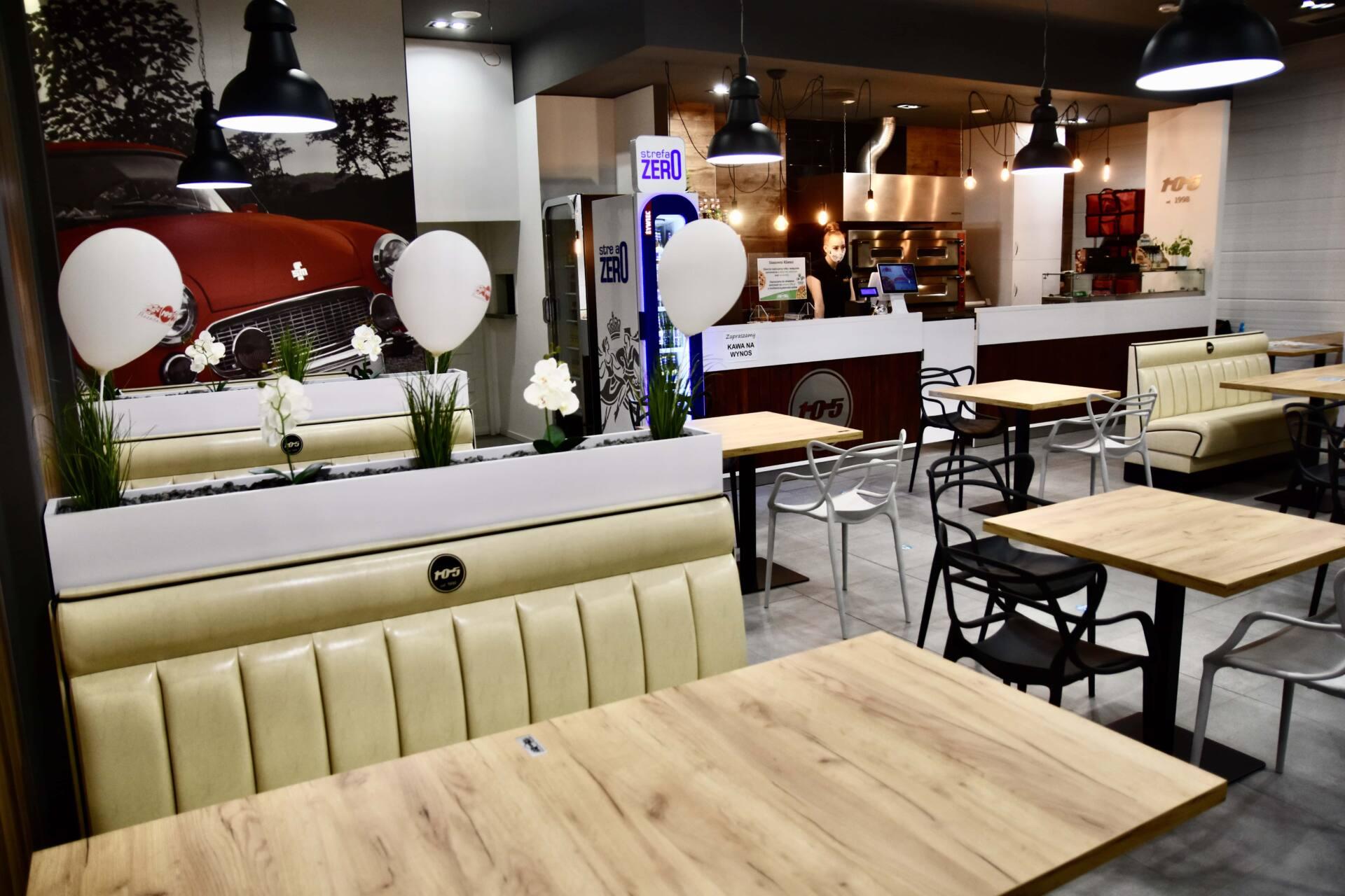 dsc 3289 Pizzeria Stopiątka otworzyła swój pierwszy lokal w Zamościu.