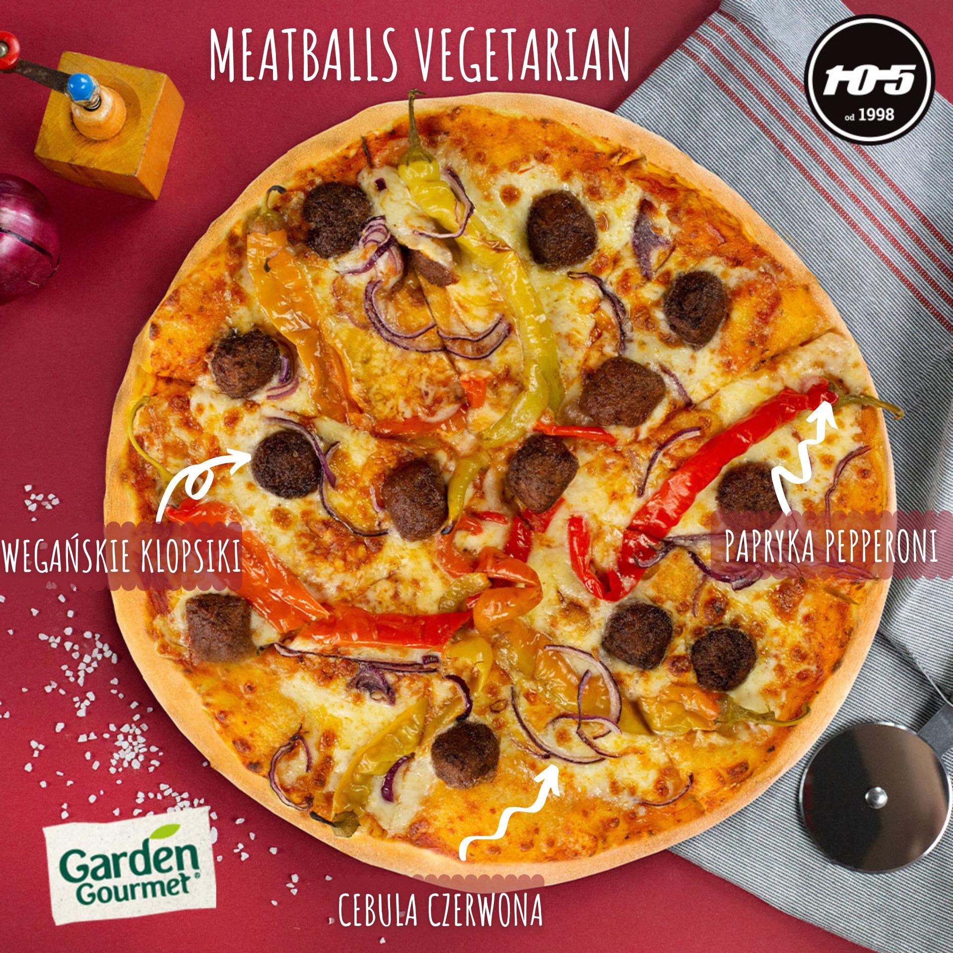 meatballs vegetarian 02 Pizzeria Stopiątka otworzyła swój pierwszy lokal w Zamościu.