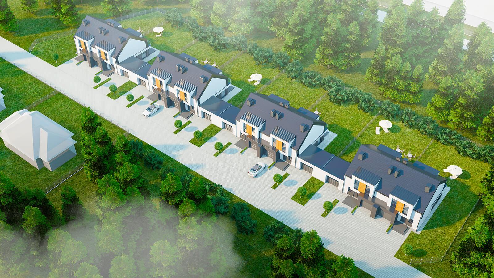 widok1 Zamość: Inteligentne domy w sprzedaży (zdjęcia)