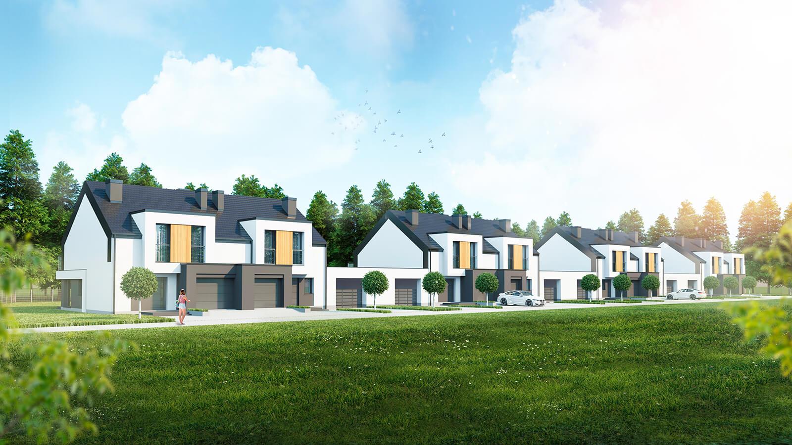 widok2 Zamość: Inteligentne domy w sprzedaży (zdjęcia)