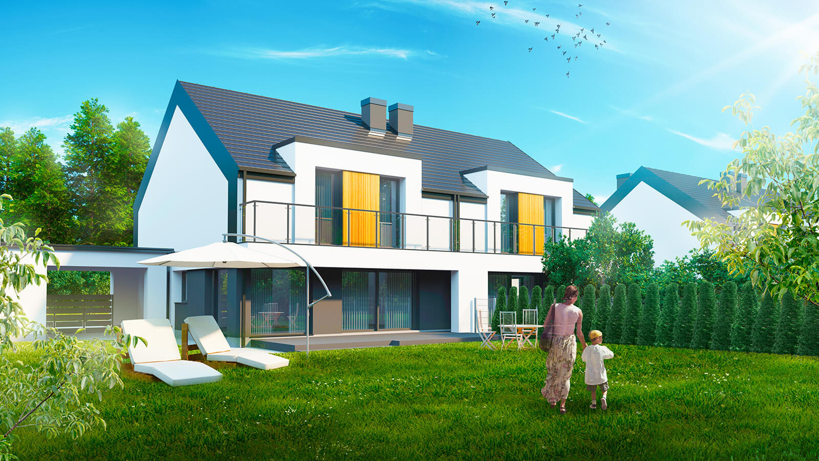 widok4 Zamość: Inteligentne domy w sprzedaży (zdjęcia)