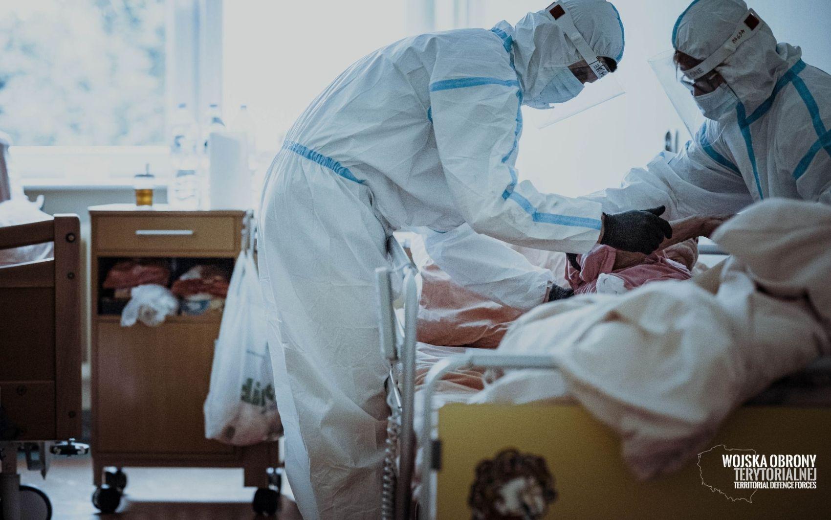 wot szpitale 3 Terytorialsi wspierają coraz więcej szpitali. Przejmują cześć obowiązków personelu medycznego