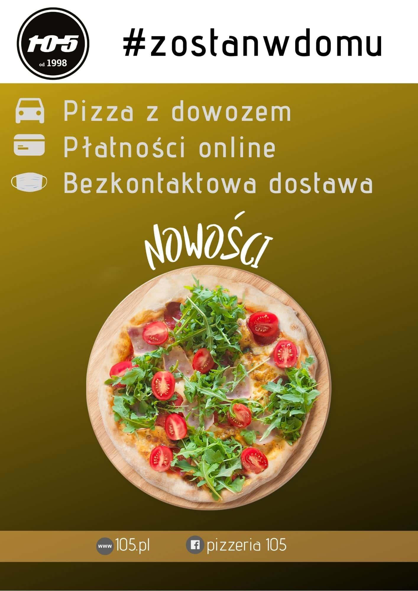 zostas w domu 01 Pizzeria Stopiątka otworzyła swój pierwszy lokal w Zamościu.