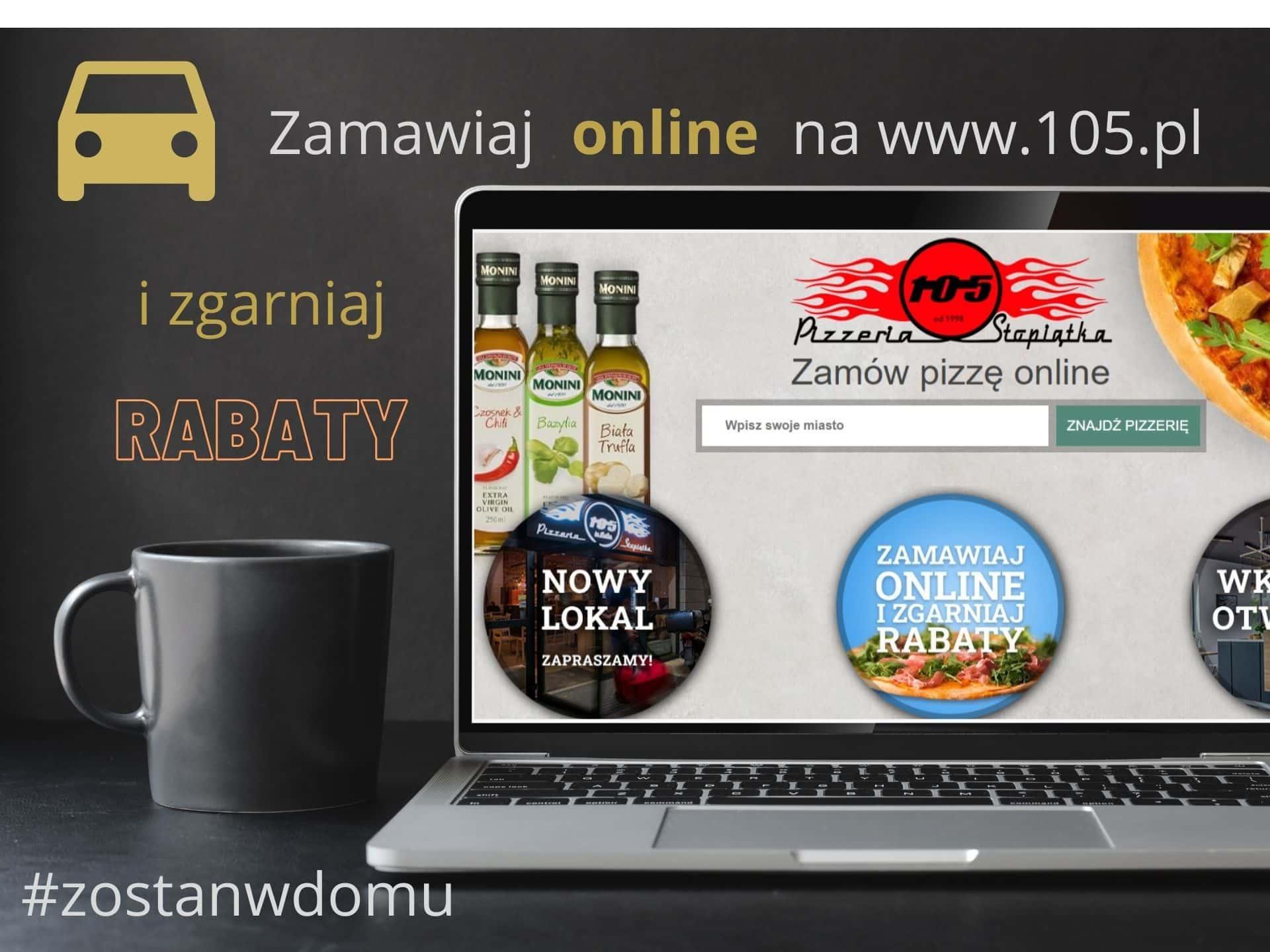 zostas w domu 02 Pizzeria Stopiątka otworzyła swój pierwszy lokal w Zamościu.