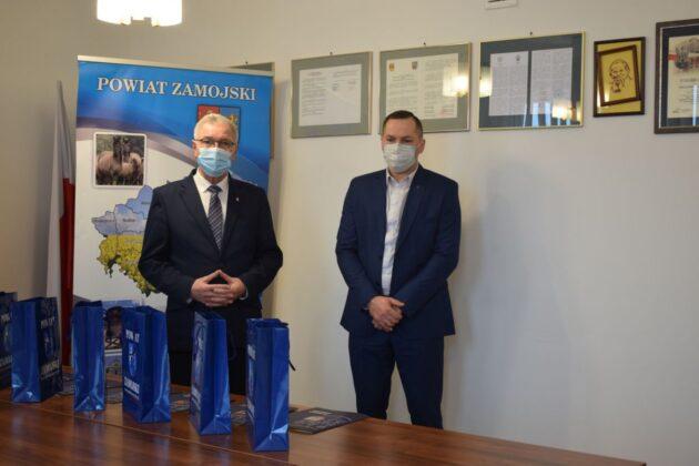 1069b Nagrody Starosty dla najlepszych sportowców i trenerów z Powiatu Zamojskiego