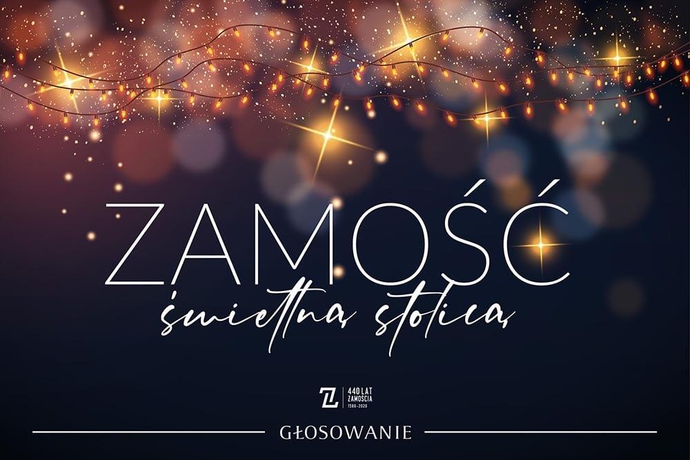 """132307115 218943459812339 2520917633856322715 o Ruszył konkurs na """"Świetlną Stolicę Polski"""". Można już głosować na Zamość!"""