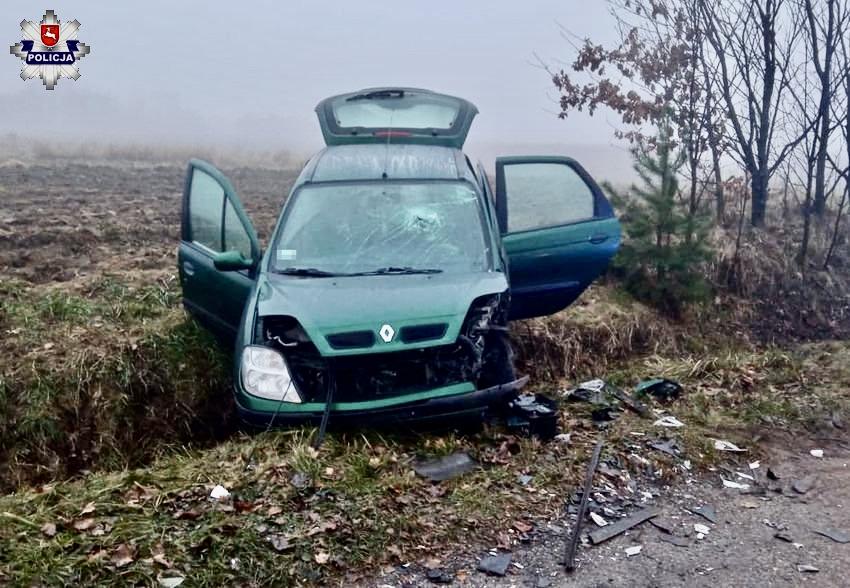 68 178324 Zderzenie renault z volkswagenem